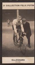Thorvald Ellegaard Danish track racing cyclist DENMARK   CARD IMAGE 1907