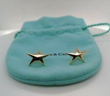 1983 Tiffany & Co. 18K Yellow Gold Star Earrings