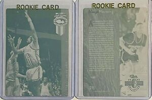 SET LOT 2 ALONZO MOURNING 1993 CLASSIC PRINTING PLATES CHARLOTTE HORNETS ROOKIE