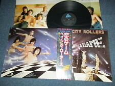 BAY CITY ROLLERS Japan 1977 NM LP+Obi IT'S AGAME