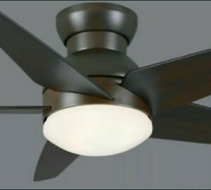 """casablanca ceiling fan """"Isotope"""" brushed cocoa 44"""", remote control included"""