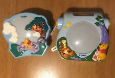TOMY winnie the pooh musical cot toy Night Light Sensor Projectors X2