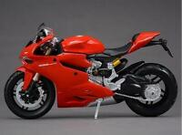 1:12 Maisto Motorcycle Bike Model Ducati 1199 Panigale Diecast Assembly Line