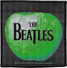 Official Licensed Merch Woven Sew-on PATCH John Lennon THE BEATLES Apple & Logo