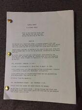 Donnie Darko movie script