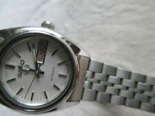 VINTAGE LADIES SEIKO 5 AUTOMATIC DAY&DATE 2906-0850 WATER RESISTANT JAPAN