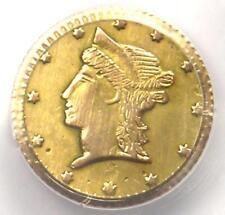 Liberty California Gold Half Dollar 50C BG-1078 R7 - PCGS AU Details - Rarity-7!