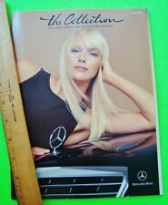 2002 Mercedes Benz BOUTIQUE Color Brochure 54-pgs FASHIONS Watches PEDAL CARS