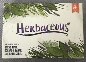 Herbaceous (The Card Game) 2017 RARE / GREAT CONDITION / GARDENING FREE UK P&P