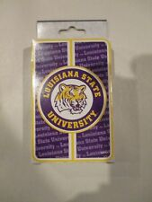 Game Day LSU TIGERS Collectible Deck of Playing Cards w Free ship!