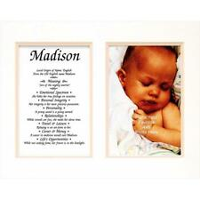 Townsend Fn02Brielle Personalized Matted Frame With The Name & Its Meaning - .