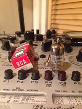 1957 RCA 12AT7 / Ecc81 Square Getter Vintage Vacuum Tube Hickok 539C Test Hifi