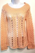 Arden B. Sweater Pullover loose knit top boat neck womens XS NEW - Mohair Blend