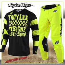 Pantaloni Motocross Troy Lee Designs 2018 GP Air mono Fluorescent Giallo 30 Vita EU 44