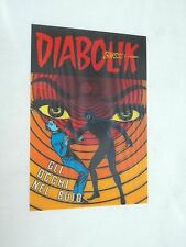 """Diabolik gadget Cartolina 3D allegata """"Gli occhi del Buio"""" del 2007"""
