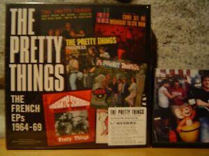 "PRETTY THINGS The French EPs 1964-69 5x7""/Rare Singles/Mono Mixes/S.F. Sorrow"