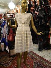 Kleid M Sommerkleid Rockabilly Pastell 50er TRUE VINTAGE 50s striped dress