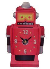 Bilderuhr Roboter Uhr Wanduhr sci-fi nerd Science-fiction Uhr Kinderzimmer