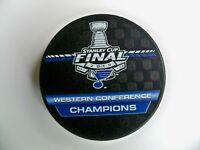 St Louis Blues 2019 Western Conference Champions Stanley Cup Playoff Hockey Puck