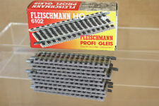 FLEISCHMANN 6102 PROFI GLEIS STRAIGHT TRACK 105mm LONG MINT BOXED nn