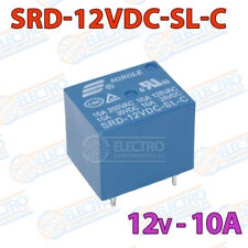 Rele 12v 10A SRD-12VDC-SL-C PCB soldar superficie power relay