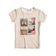 ROXY GIRL Mädchen T-Shirt Frontprint Eierschale