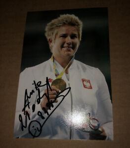 Anita Włodarczyk Signed (Poland)