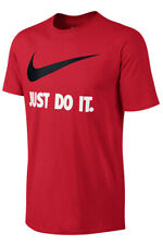 Nike Just Do It Athletic Fit T-Shirt - Size XL - Red