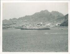 Photo Merchant Ship Gibraltar Taken From HMS Victorious 4.5 x 3.5 inches p3