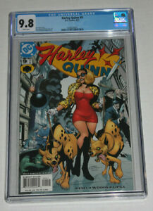 HARLEY QUINN #9 NM CGC 9.8 1ST COVER APPEARANCE OF HARLEY QUINN OUT OF COSTUME