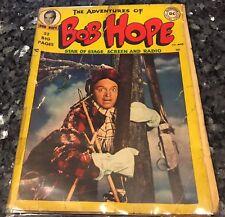 ADVENTURES OF BOB HOPE #1 READER COPY 1950, with original CASANOVA movie poster