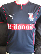 Stoke City - Black Away Shirt - 2005/06 - Youth XL - 36""