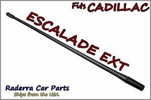 """2006-2013 Cadillac Escalade EXT - 13"""" SHORT Custom Flexible Rubber Antenna Mast"""