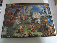 Mega Bloks Dragons Battle Gate Building Blocks Playset