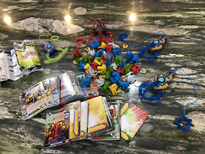 Battle Claw Game Huge 4 Player Lot, Rare Figures And Cards