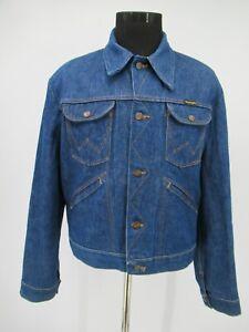 M9456 VTG Men's Wrangler Button-Up Denim Jean Jacket