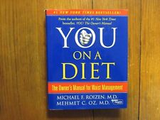"""MICHAEL F. ROIZEN, M. D.  Signed  Book (""""YOU ON A DIET""""-2006  Hardback  Edition)"""