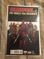 Deadpool /& the Mercs for Money #3 003 Variant Toy Marvel Comics vf//nm CB1558