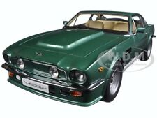 1985 ASTON MARTIN V8 VANTAGE FOREST GREEN 1/18 DIECAST MODEL BY AUTOART 70224