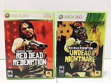 Red Dead Redemption & Undead Nightmare Games (Microsoft Xbox 360, 2010)