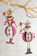 Pier 1 -- Valentine's Day -- Glittered -- King & Queen of Diamonds -- Ornament