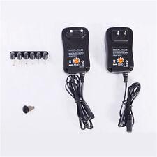 Multi Voltage Power Adapter 30W 3V 4.5V 5V 6V 7.5V 9V 12V  DC US Power Supply