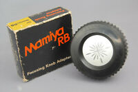 MAMIYA RB 67 Focusing Knob Adapter [Excllent] w/ box From Japan