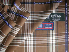 DORMEUIL Amaadeus '365 JACKETING' LUXURY WOOL FABRIC 2.05 m.- MADE IN ENGLAND BY