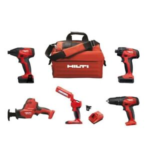 Hilti -12-Volt Cordless 5-Tool Combo (OPEN BOX)