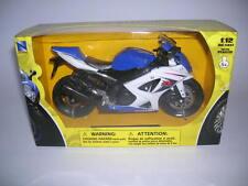 NewRay Suzuki GSX-R 1000/ GSX-R1000 Blue White, 1:12 Motorcycle Item 57003