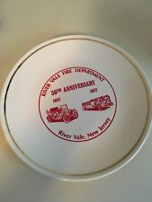 50th Anniversary 1923-1973 River Vale N.J. Fire department Plate