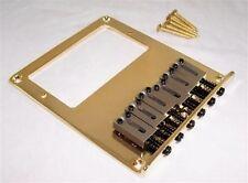 Humbucker ajourées guitare bridge pour fender telecaster / gold