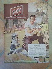 RETRO Vintage Paper Advert 1951 Schlitz The Beer That Made Milwaukee Famous