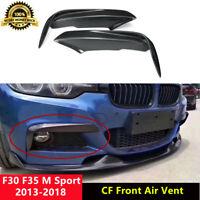 F30 M Sport Front Air Vent Carbon Fiber Grill for BMW F30 F35 M Sport 2013-18